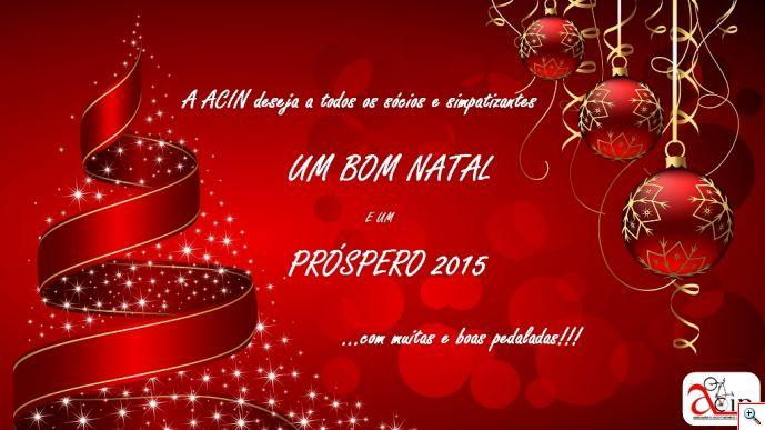 Boas Festas e Feliz Ano Novo de 2015